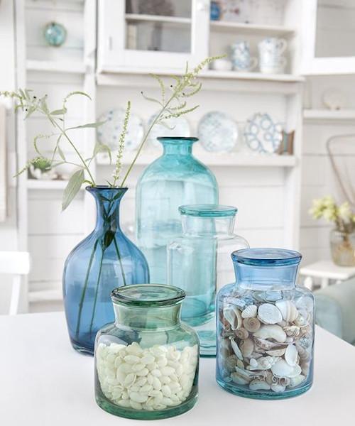 Accessori decorativi per la cucina della casa al mare