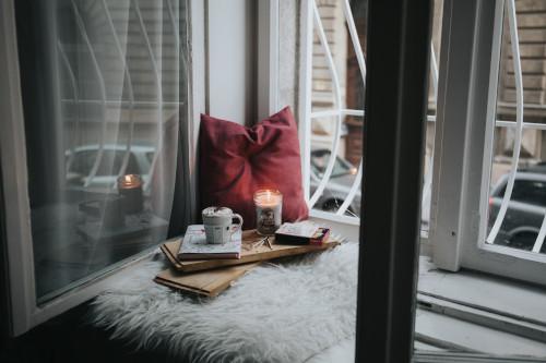 Angolo relax con candele