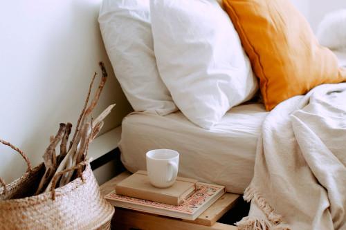 Angolo relax in camera da letto