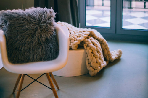 Arredamento di una stanza relax