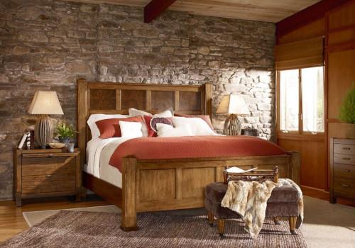 Arredo camera da letto in stile country