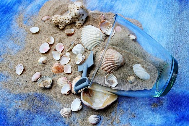 Arredo marino - homedecor con conchiglie