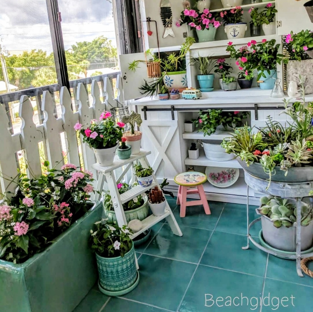 Balcone in stile coastal - © Lucy Savoie-Lawicki