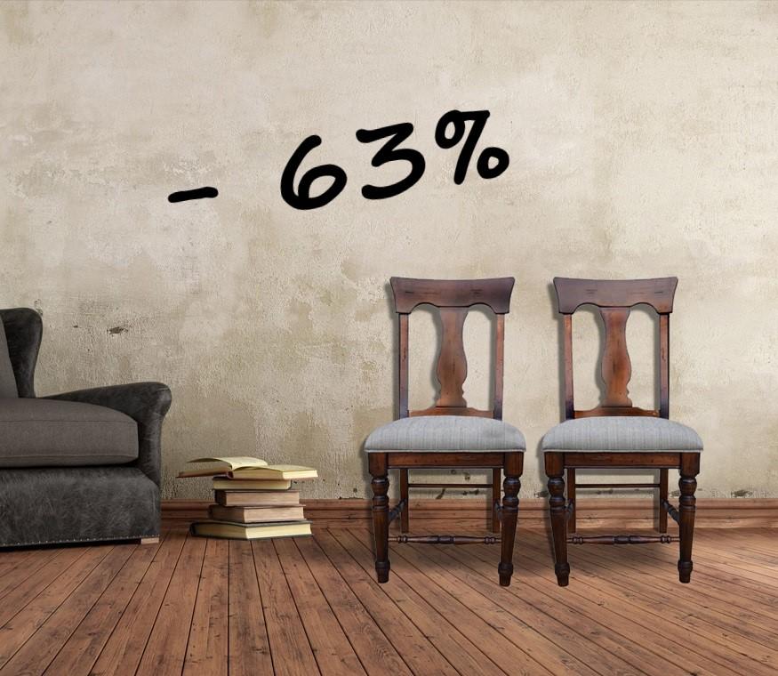 Black Friday - sconto del 63% sulle sedie
