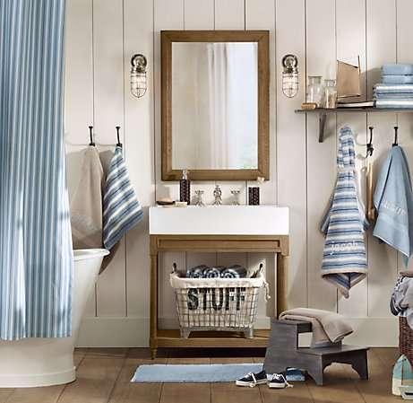 Colori per bagno in stile marinaro