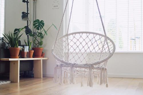 Colori e materiali per stanza relax