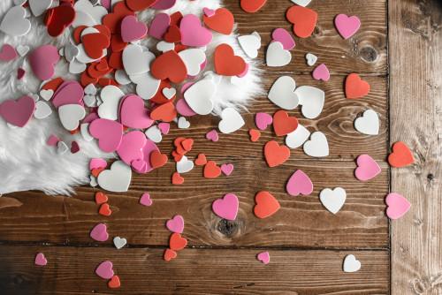 Decorare casa con i cuori a San Valentino