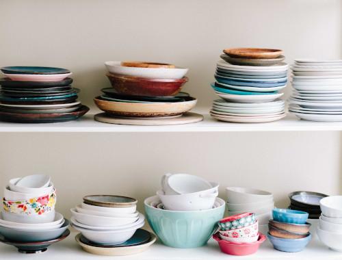 Decorare la cucina con le ceramiche