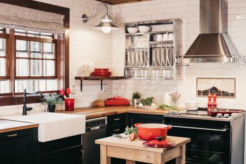 Decorare le pareti della cucina con la carta da parati