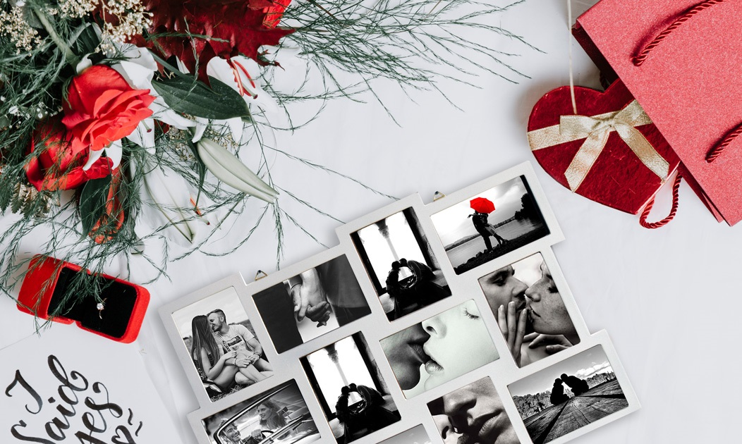 Idee regalo per San Valentino - portafoto