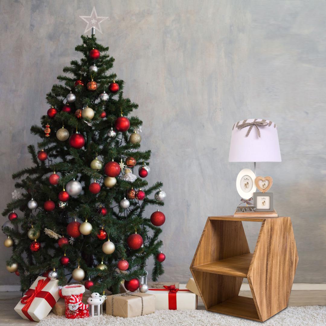 Lampade da tavolo per decorazioni natalizie