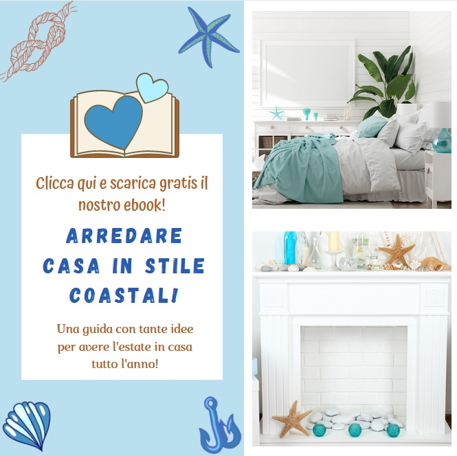 "Ebook ""arredare casa in stile coastal"""