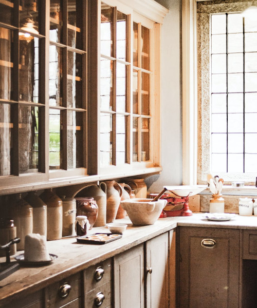 Mobili per cucina in stile provenzale