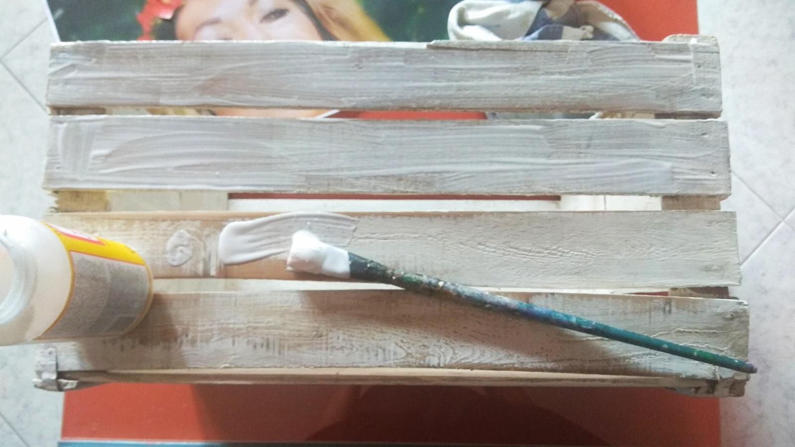 Trasferire foto su legno - colla