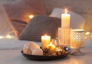 7 suggestive ideas for decorating with candles: magic at home!