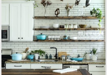 How to adorn the kitchen: 7 cheap and brilliant ideas!