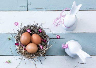 Shabby chic Easter: many creative ideas to decorate your home!