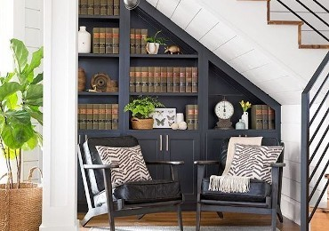 Ideas and tips for furnishing the understairs and making the most of it