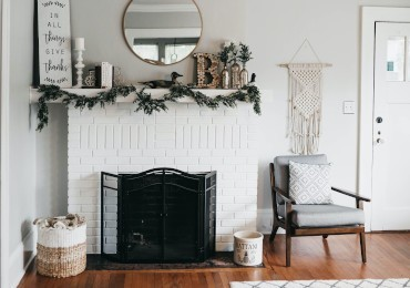 9 ideas for decorating the fireplace with style and simplicity!